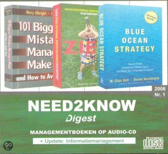 Blue ocean strategy Need2Know (luisterboek) - W. Chan Kim |
