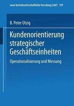 Kundenorientierung Strategischer Geschaftseinheiten