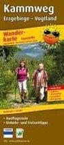Kammweg Erzgebirge - Vogtland 1 : 25 000 Wanderkarte