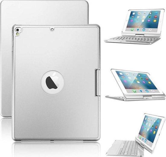 iPad Pro 10.5 inch Toetsenbord Draaibaar Zilver