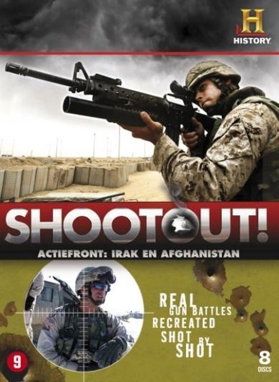 Cover van de film 'Shootout'