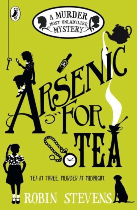 Boek cover Arsenic For Tea van Robin Stevens (Paperback)