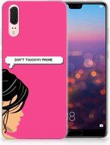 Huawei P20 Uniek TPU Hoesje Woman DTMP