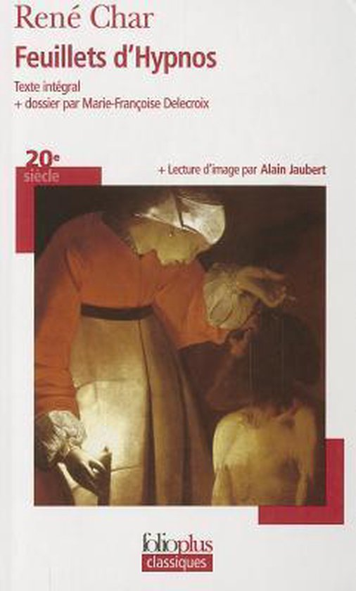 Boek cover Feuillets DHypnos van René Char (Paperback)