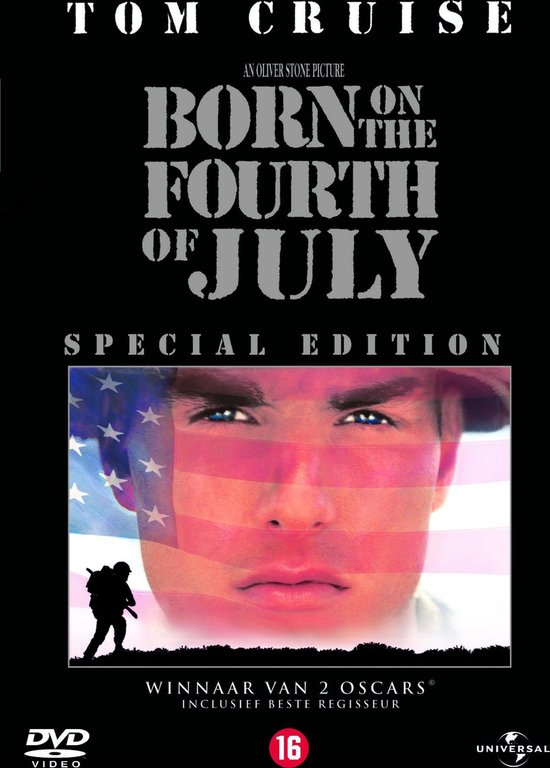 Cover van de film 'Born on the 4th of July'