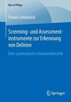 Screening- Und Assessmentinstrumente Zur Erkennung Von Delirien