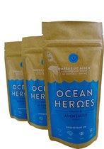 Alchemist1962 Ocean Heroes - Veganistische Omega-3 Algenolie DHA + EPA - 180 Capsules 500 mg