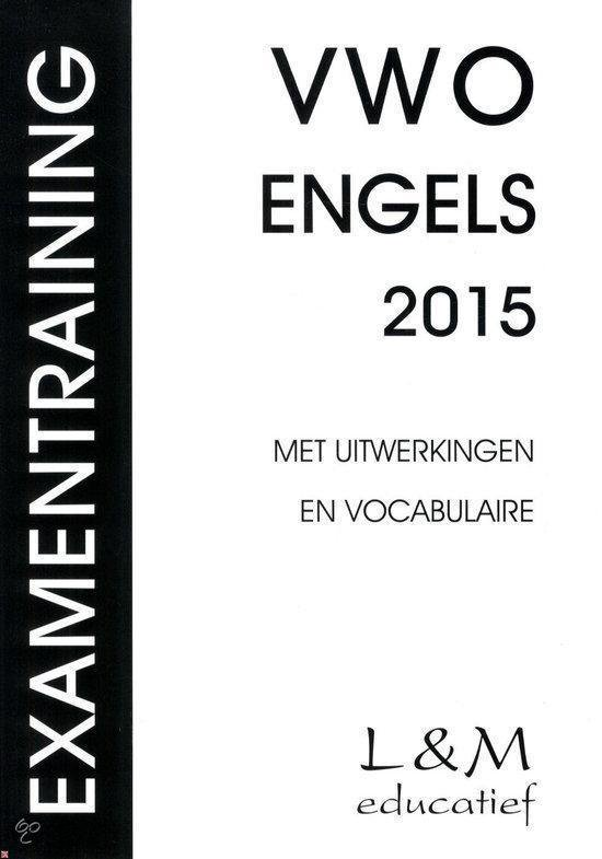 Examentraining Vwo Engels 2015 - Honders, H.G.A. |