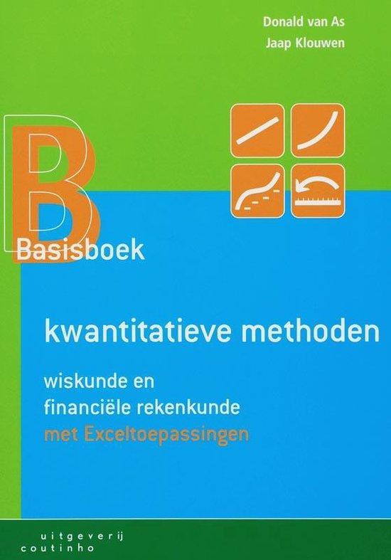 Basisboek kwantitatieve methoden - Donald van As |