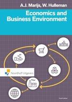 Boek cover Economics and business environment van W. Hulleman
