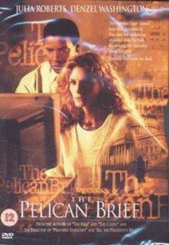 Cover van de film 'Pelican Brief'