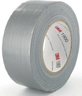 3M 1900 - Duct tape - 50 mm x 50 m - Zilver