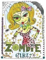 Zombie Girl Coloring Book