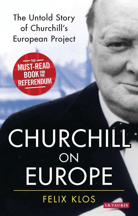 Boek cover Churchill on Europe van Felix Klos (Onbekend)