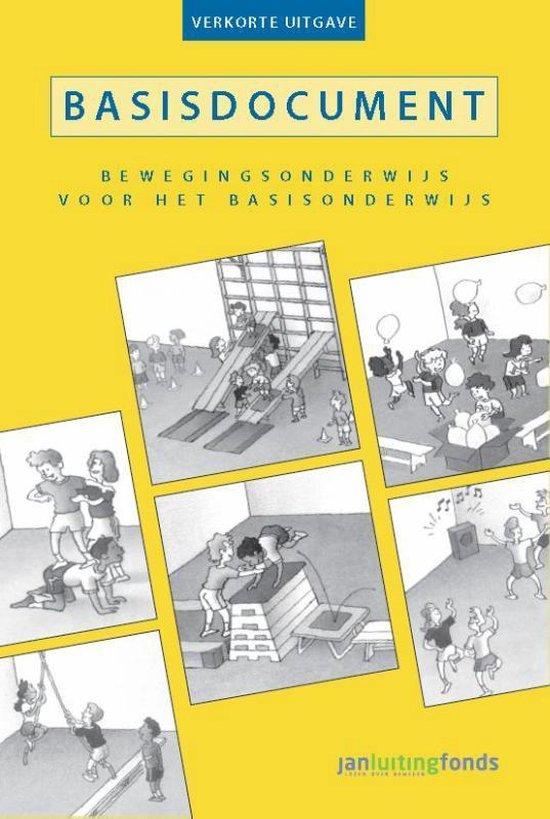 Boek cover Basisdocument bewegingsonderwijs voor het basisonderwijs van Chris Mooij (Paperback)