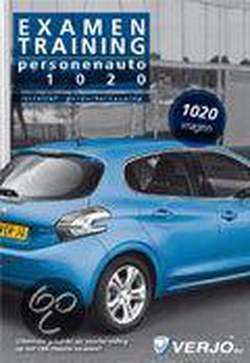 1020 vragen personenauto Examentraining - 18e druk - verouderde druk - Verjo redactie groep