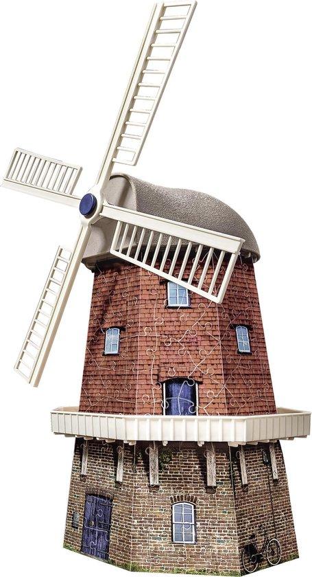Ravensburger Windmolen - 3D Puzzel gebouw van 216 stukjes