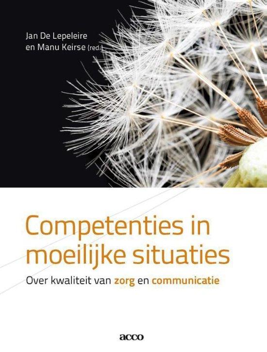 Competenties in moeilijke situaties - Jan de Lepeleire |