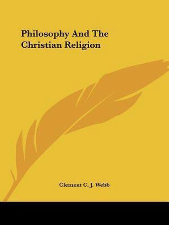 Philosophy and the Christian Religion