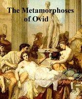 Boek cover The Metamorphoses of Ovid, literally translated van Ovid