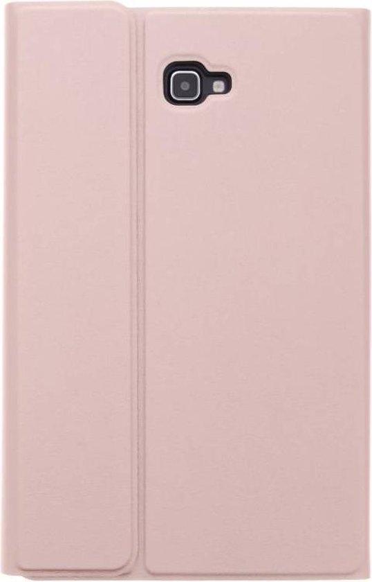 Bluetooth Keyboard Bookcase voor Samsung Galaxy Tab A 10.1 (2016) - Rosé Goud - Merkloos
