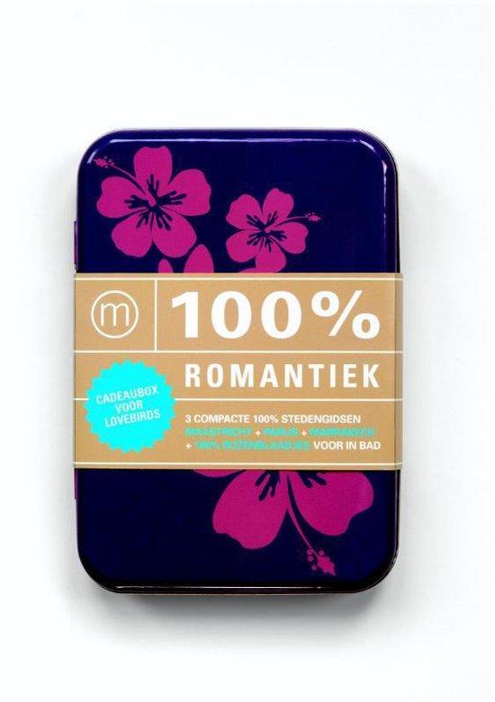 Cover van het boek '100% Romantiek - boekbox' van Rix Albertsma