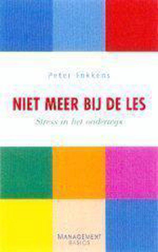 Cover van het boek 'Niet meer bij de les' van Peter Fokkens