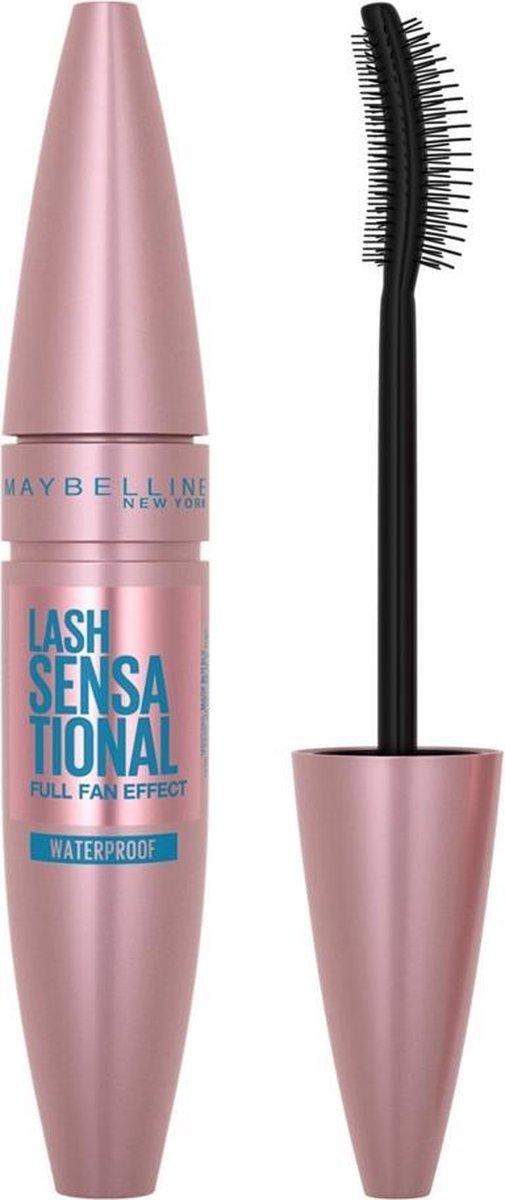 Maybelline New York - Lash Sensational Mascara - Very Black Waterproof - 9,5 ml