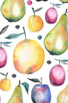 Fruit: Graph Paper Notebook, 6x9 Inch, 120 pages