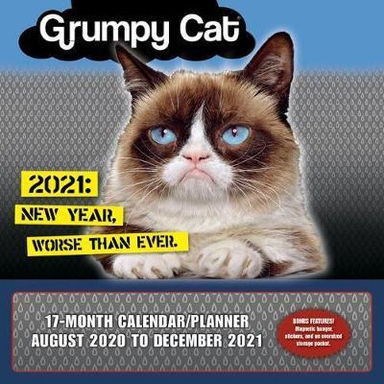 Grumpy Cat Kalender 2021
