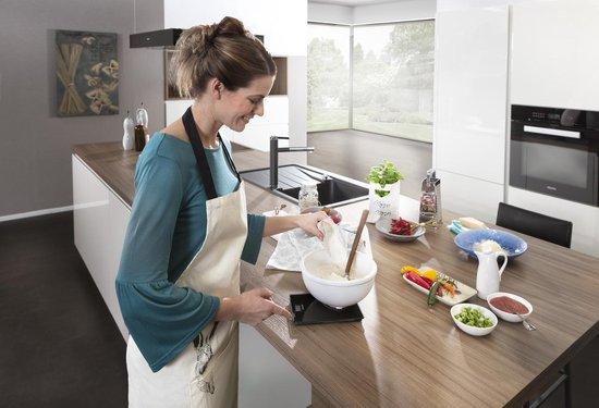 Soehnle Keukenweegschaal Page Compact 100 - Tot 5 kg - Zwart - Soehnle