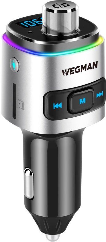 Wegman Bluetooth FM Transmitter - Autolader - Bluetooth Carkit