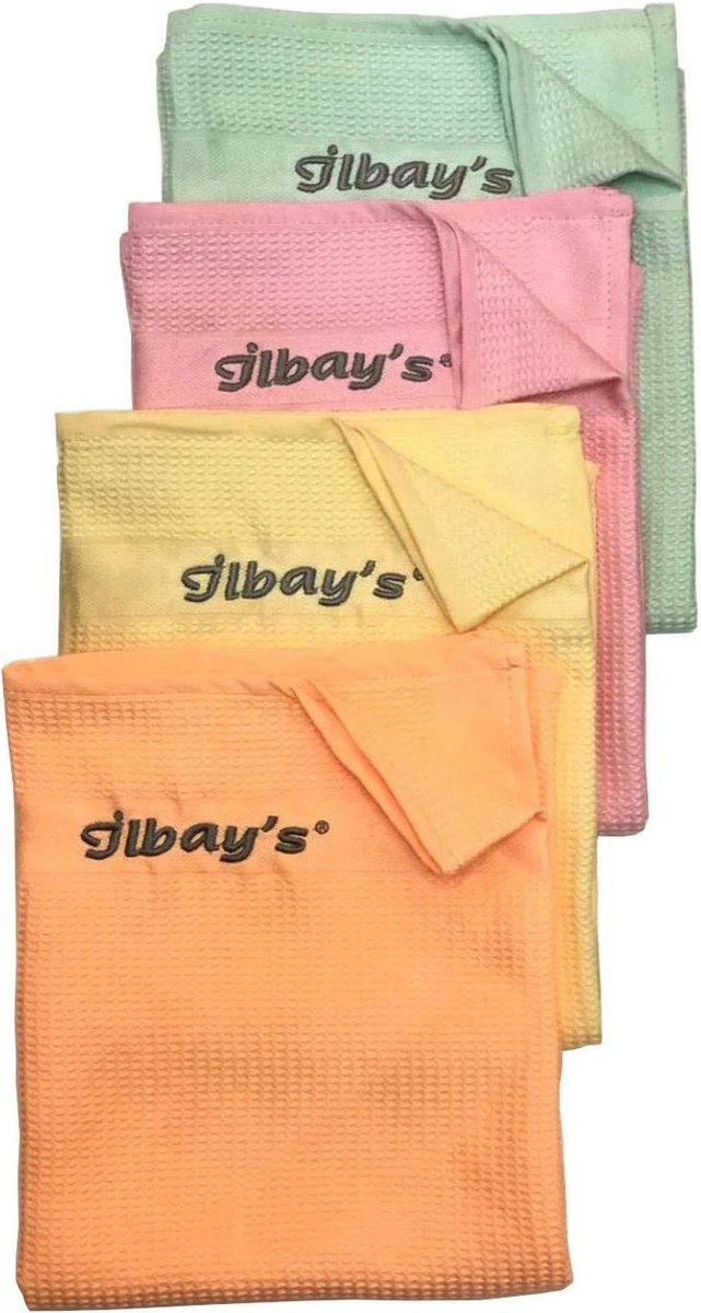 Ilbay s Bezler/Doeken- Ilbays schoonmaakdoeken - 4 stuks
