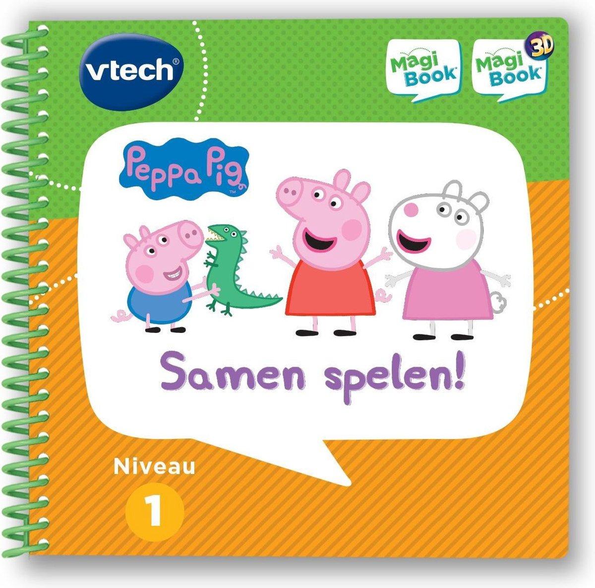 VTech MagiBook Activiteitenboek - Peppa Pig - Educatief Babyspeelgoed