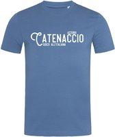 Stedman T-shirt Voetbal | Catenaccio | Italië | Italiaans voetbal James | STE9200 Heren T-shirt Maat M