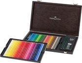 Faber-Castell Polychromos kleurpotlood - 48st. - kist - FC-110006
