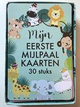 Mijn Eerste Mijlpaal-kaarten - 30 stuks - Baby Mijlpaal - Lopen - Vakantie - Staan