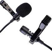 JLM High End Products Lavalier microfoon - Omnidirectionele Condensator Microfoon - Reversmicrofoon - Interviews - conferentie