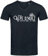 Stedman T-shirt Wielrennen Alpe d'Huez | Tour de France | Ronde van Frankrijk James | STE9210 Heren T-shirt Maat S