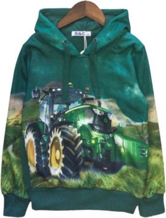 Stoere sweater met John Deere.