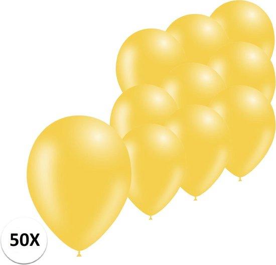 Gele Ballonnen 50St Feestversiering Verjaardag Ballon
