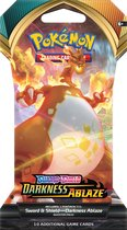 Pokémon Sword & Shield Darkness Ablaze Sleeved Booster - Pokémon Kaarten