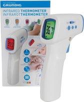 Grundig Voorhoofdthermometer - Thermometer - Temperatuurmeter - Infrarood