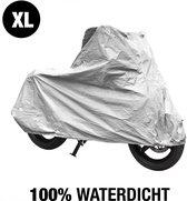 Motor en scooterhoes voor buiten - XL  - 100% Waterdicht - 246x104x127 cm - regenhoes motor - brommer - bromfiets