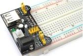 OTRONIC® Breadboard voeding 3.3v en 5v USB power input 6v tot 12v met aan en uit schakelaar voor Arduino | ESP32 | ESP8266