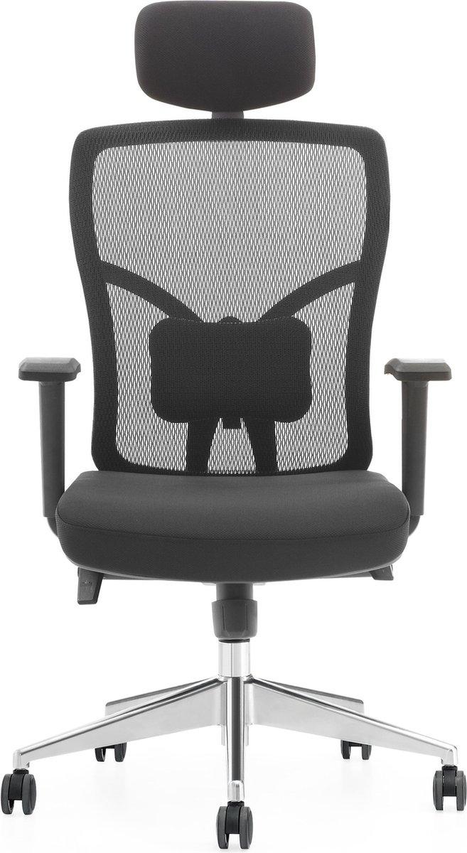 Ergonomische bureaustoel - Dean Aluminium