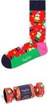 Happy Socks 1-Pack Santa Socks - Giftbox - HOLIDAY - Maat 41-46