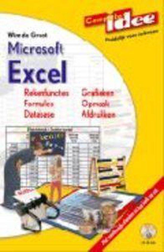 Cover van het boek 'Microsoft Excel + CD-ROM'