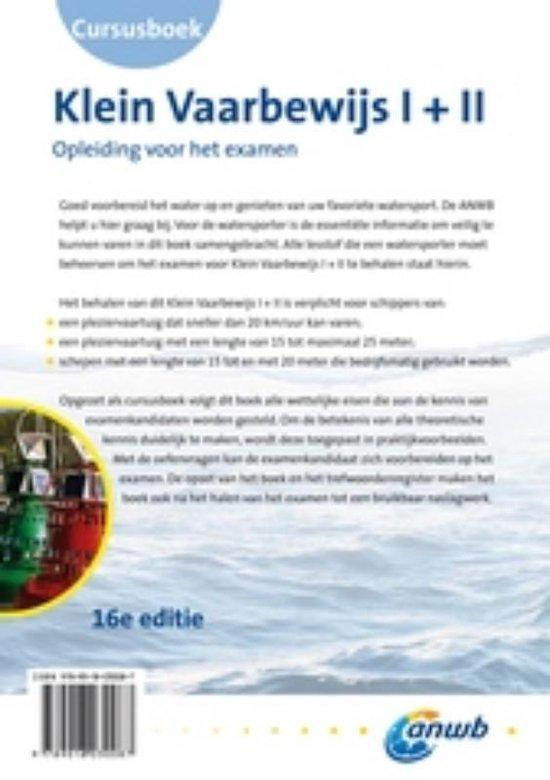 Cursusboek Klein Vaarbewijs I + II - ANWB