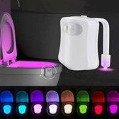 Toilet verlichting LED - Toilet LED -  Toiletverlichting - Toiletpot verlichting - Housewarming cadeau